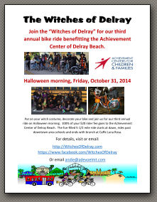 2014 Witch ride flyer